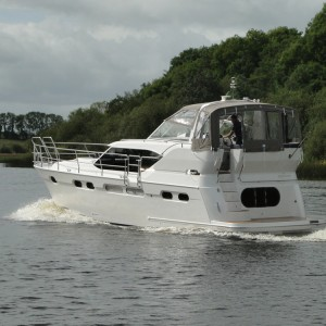 New A405 gets out on the water