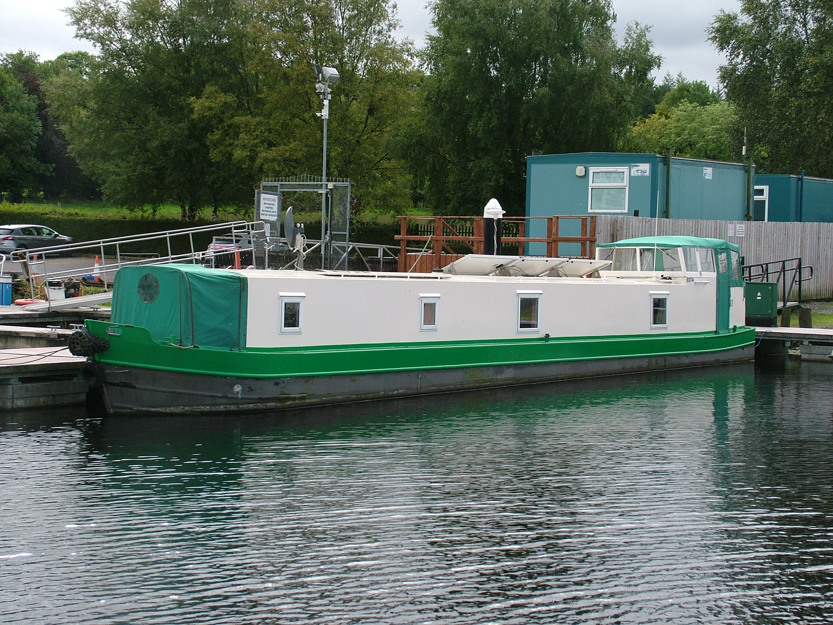 55ft Narrow boat liveaboard